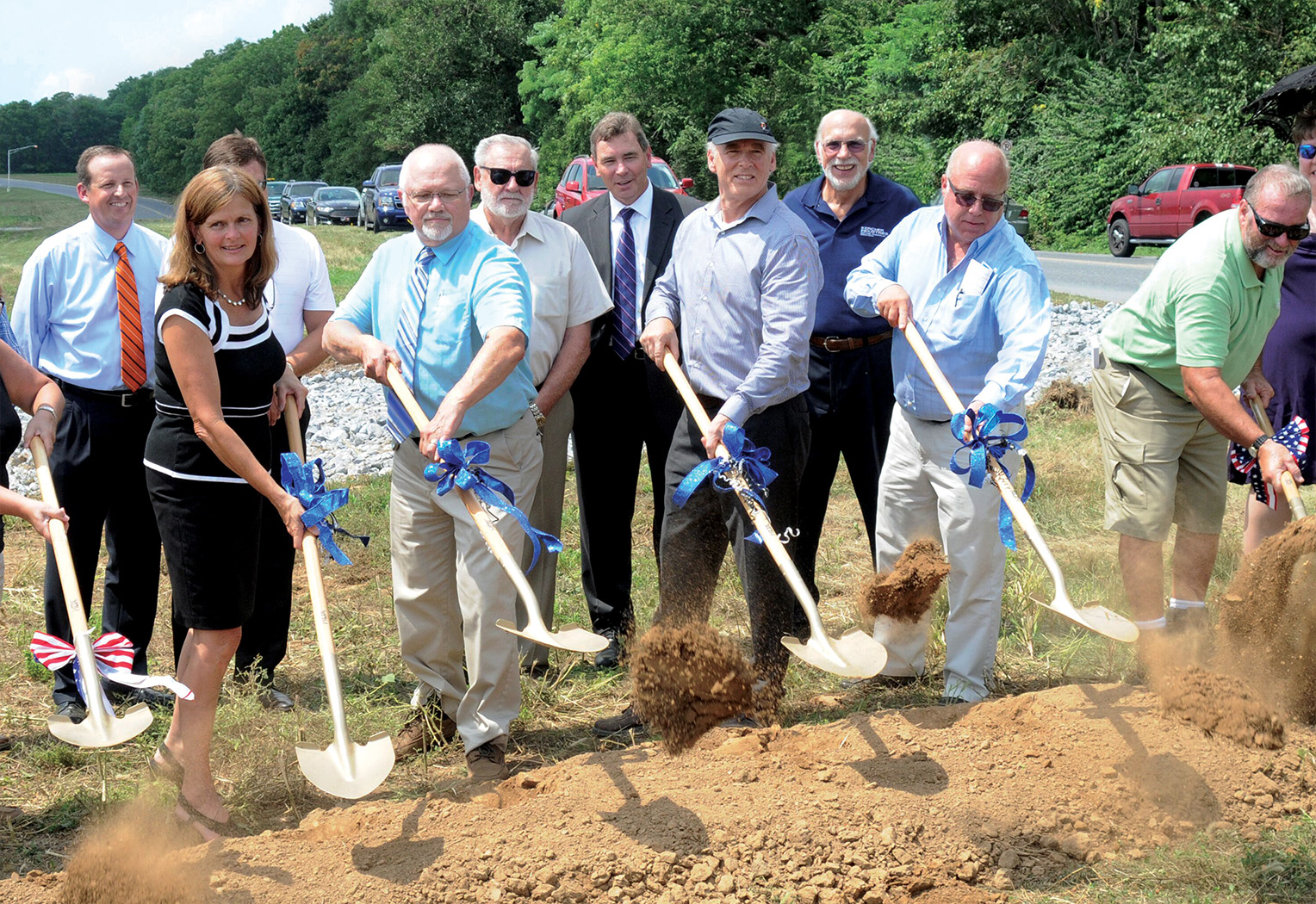 Groundbreaking at LVC